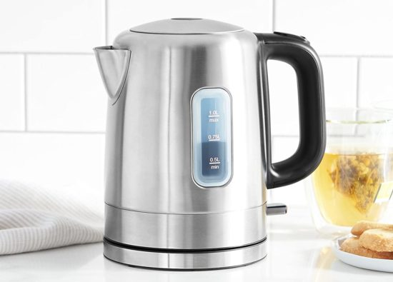 Electric kettle of cleaning