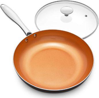 MICHELANGELO Red Copper Pans