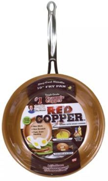 Red Copper Pans