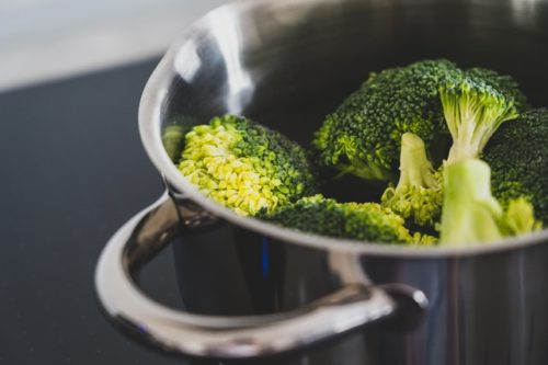Broccoli in a Microwave